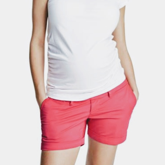 221a1fd40a16f H&M Shorts | Summer Clearance Pink Chino Maternity | Poshmark
